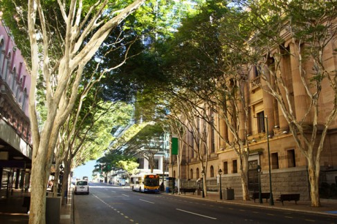 Adelaide Street in Brisbane