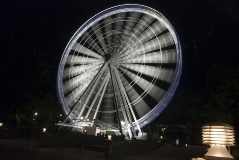 Panoramic Wheel by Night, Brisbane