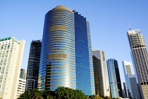 Brisbane City Skyline in Australia