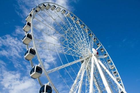Brisbane's ferris wheel