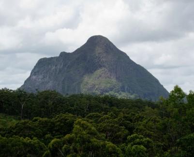 Mount Coonowrin in Australia